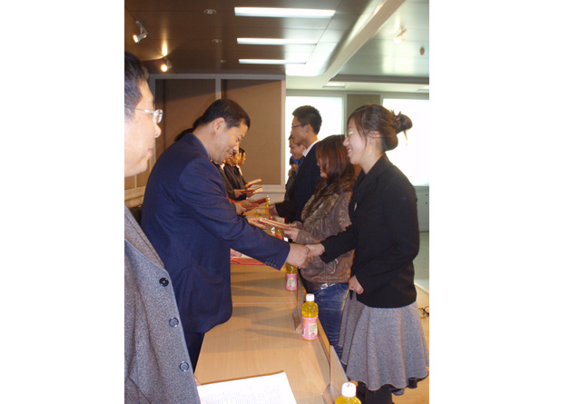 Wellhope awarded scholarship in Jilin Agricultural University