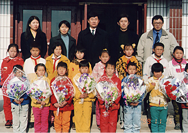 Wellhope donated money to build a primary school in Tai'lai county, Qiqihar city